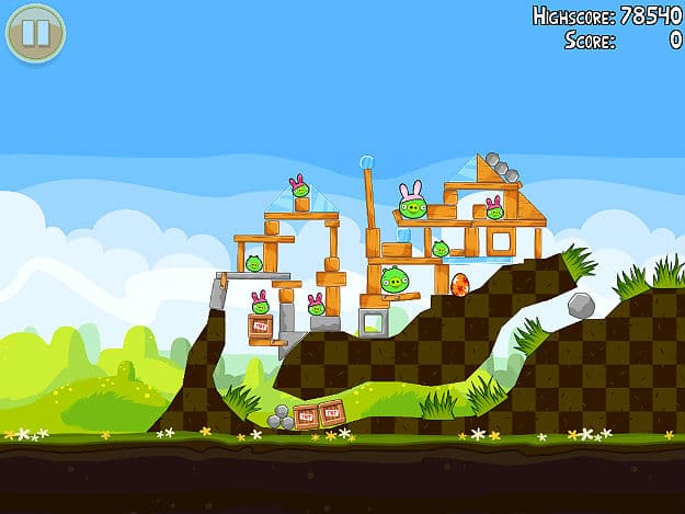 Angry Birds Easter Edition Snapshots Released