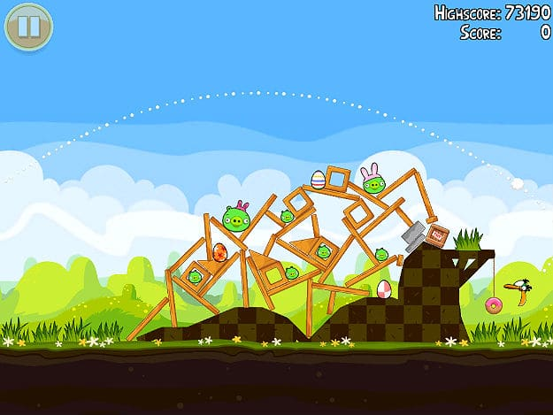 Angry birds Easter Edition