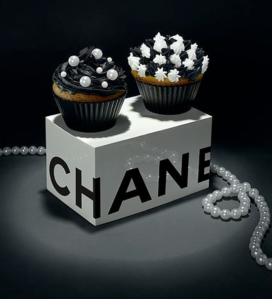Chanel Decorated Classy Cupcake