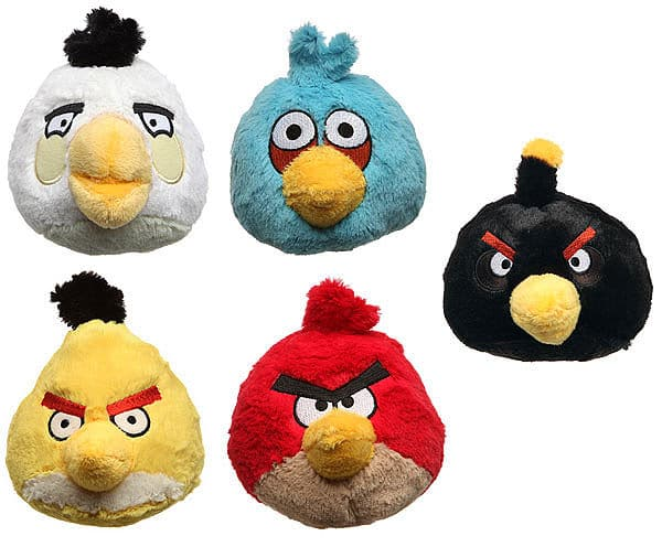 Angry Birds Plush With Sound