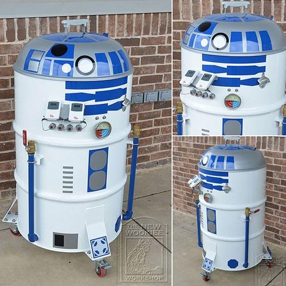 BBQ R2-D2 Customizations For Summer