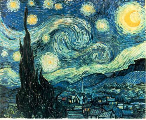 Bacon Van Gogh Starry Night