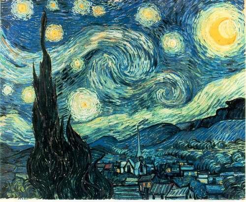 Bacon Van Gogh Starry Night