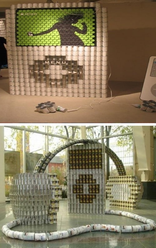 Canstruction Canned Food Build Concepts