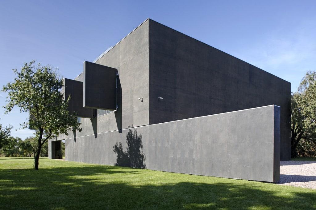 Concrete Block Zombie Bunker House