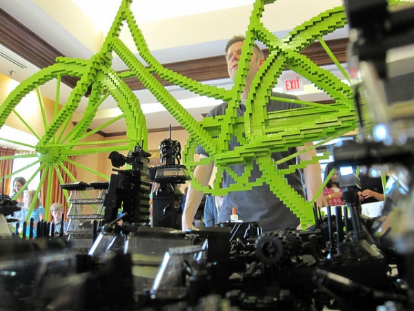 Full Size Lego Bike Build