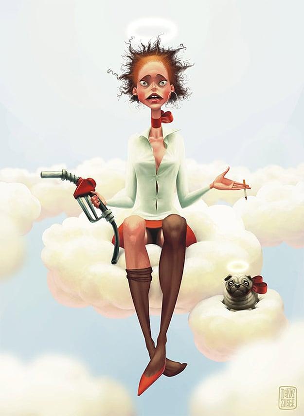Denis Zilber Creative Caricature