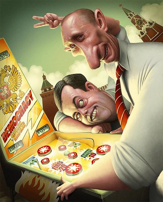Denis Zilber Creative Caricatures