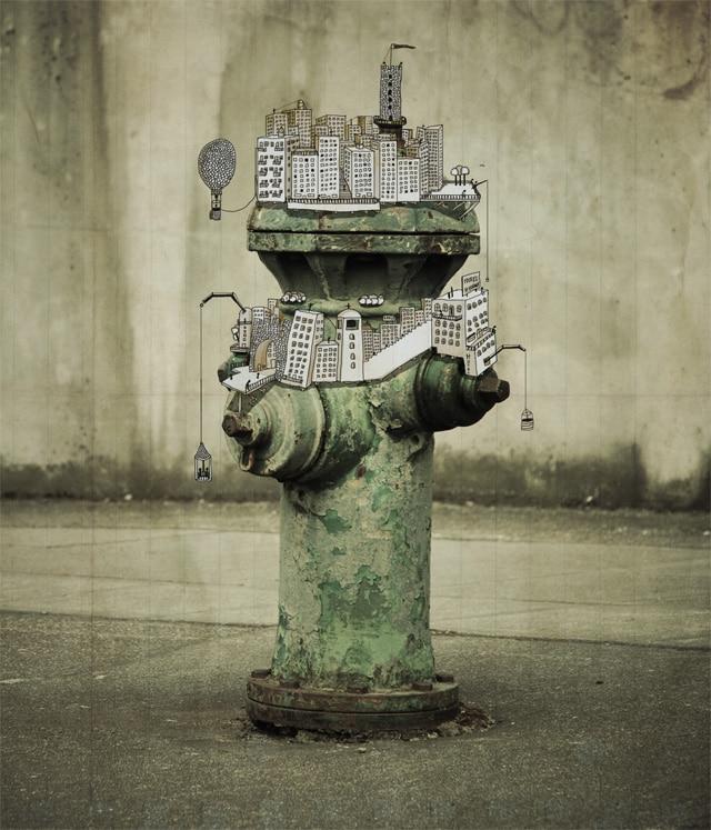 Imaginative Augmented Photography Illustration Design