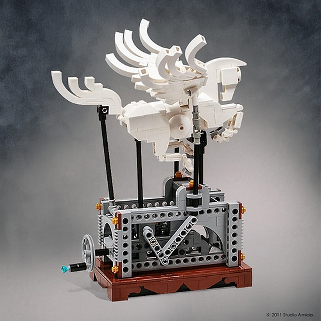 Lego: A Graceful Flying Pegasus Automaton