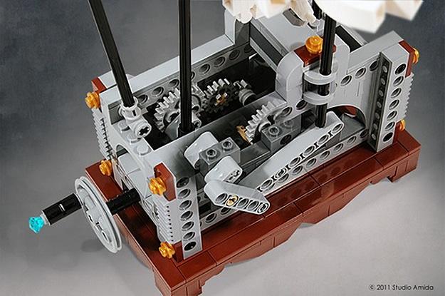 Pegasus Lego Automaton Build