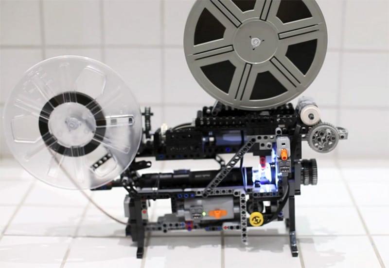 Lego Super 8 Projector Build