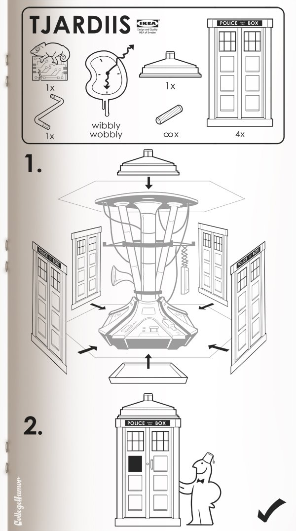 Movie Concept IKEA Instruction Manuals