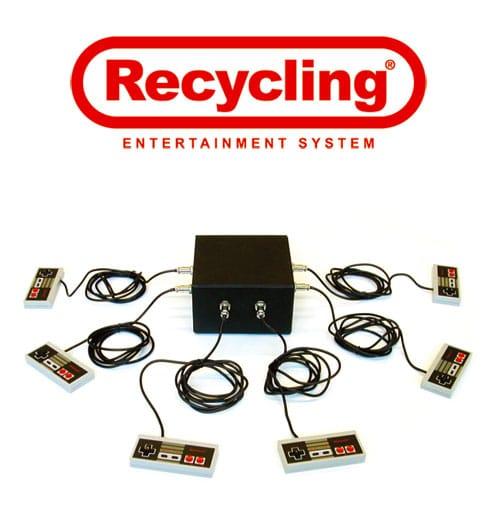 Nintendo NES Recycling Entertainment System