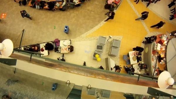 PET Recycle Bin Flashmob Video