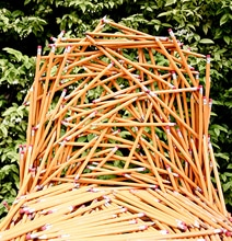 The Pencil Chair: Never Lose Your Pencils Again