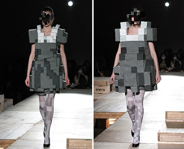 Pixel 8-Bit Fashions: For Old School Geek Divas