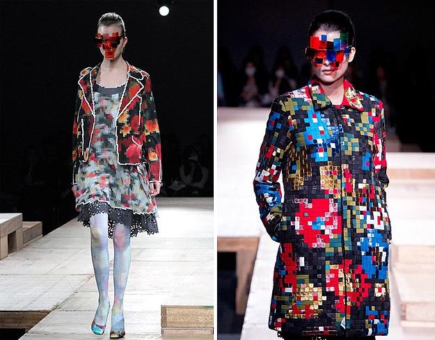 Pixelated Japanese Fashion Show