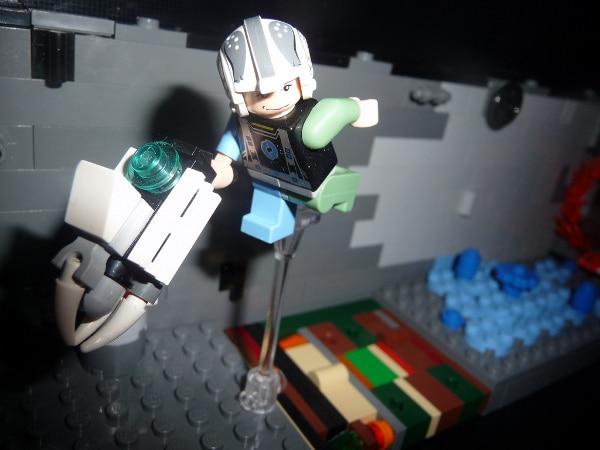 The Escape: Portal 2 Recreated In Lego