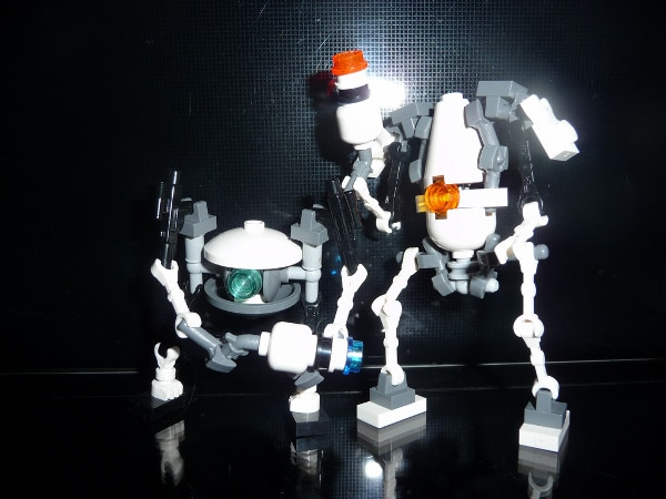 portal 2 robots. lego portal 2 robots.