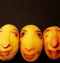 Potato Portraits: The Real Life Potato Heads