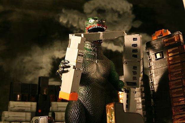 Printer Cartridges As Monsters