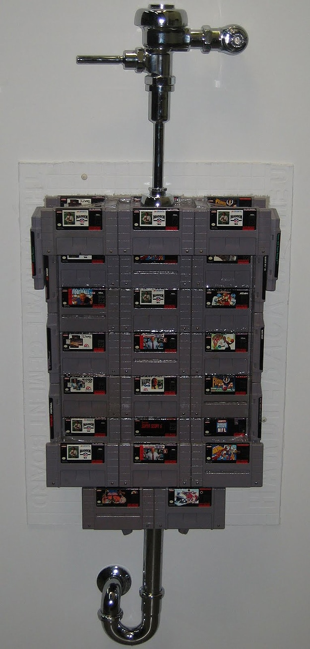 Build Game Cartridge Urinal