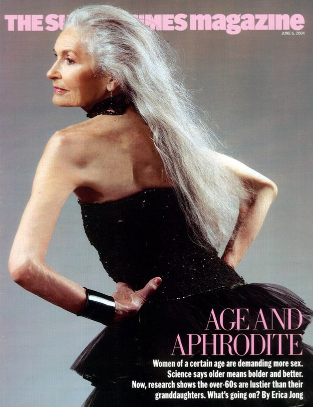 Daphne Selfe Fashion Model