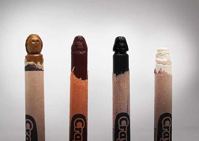 Star Wars Crayon Carving Set