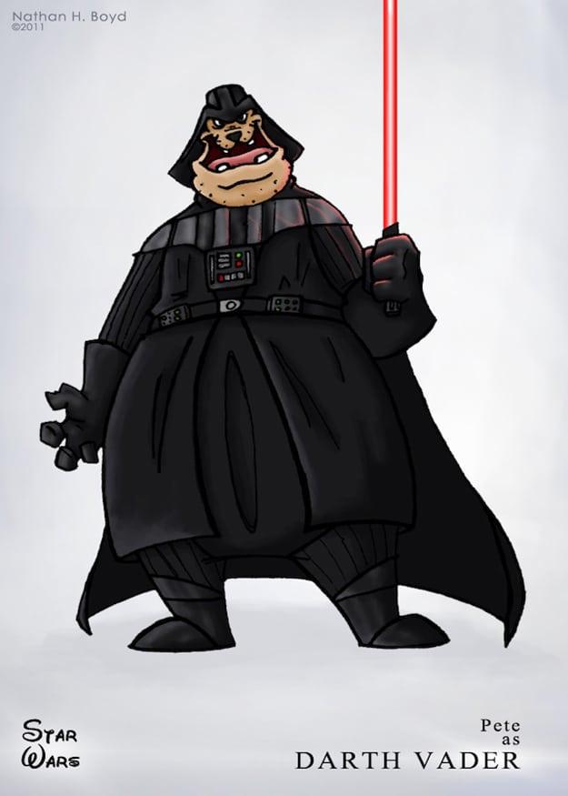 Darth Vader Disney Character