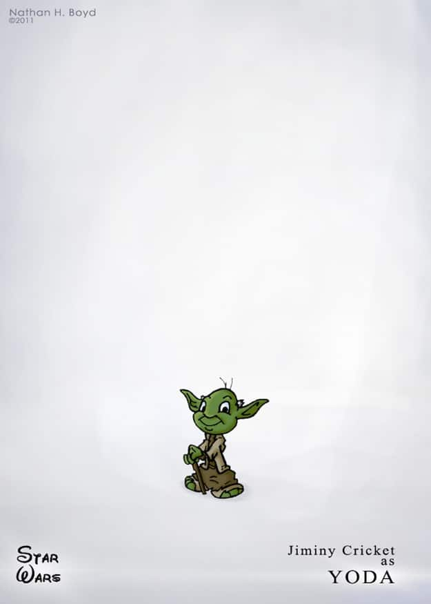 Yoda Disney Goes Star Wars