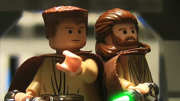 Lego Stop Motion: 3 Star Wars Movies Retold In 2 Minutes