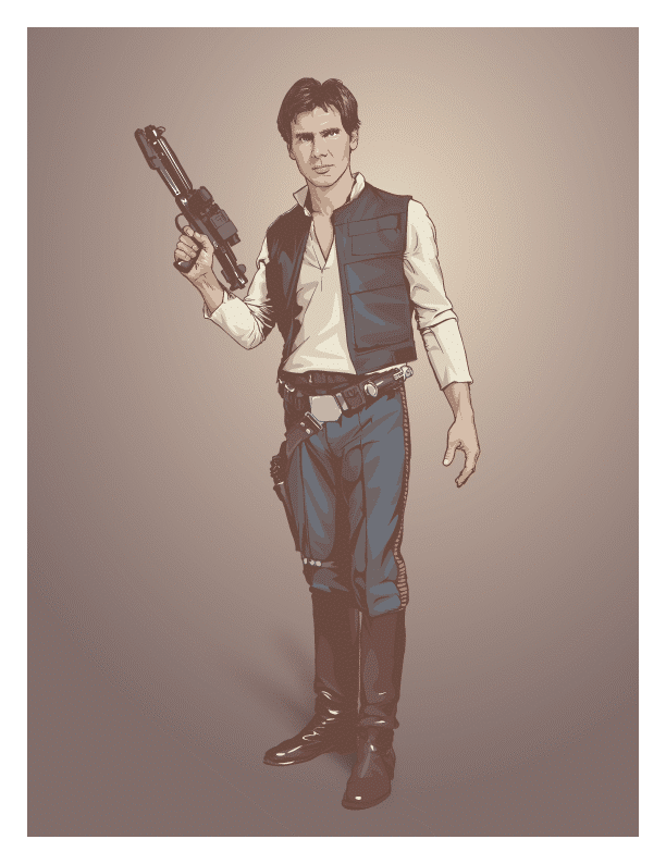 Star Wars Vector Art: This Is Pure Brilliance