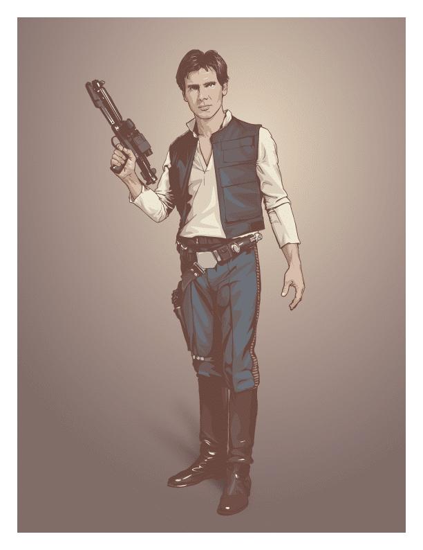 Star Wars Vector Graphic Art