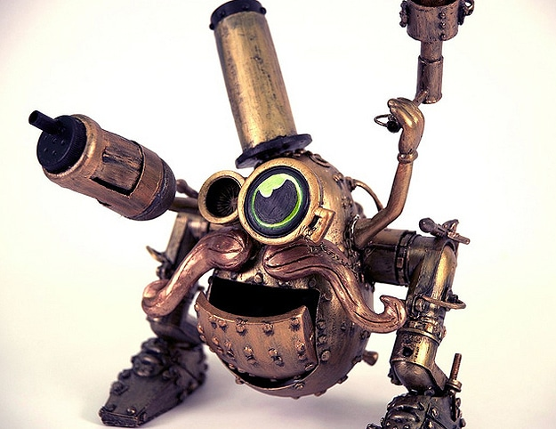 Make Your Own Steampunk Mr. Potato Head