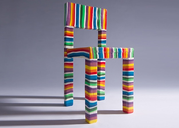 The Lollipop Chair Made From Pure Sugar