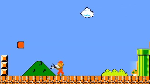 Super Mario With A Portal Gun Is Way More Fun