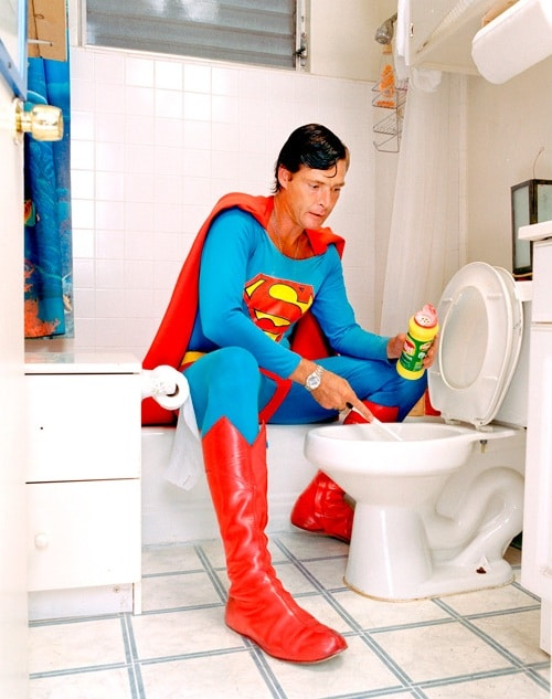 Superheroes At Home: Their Life Between The Deeds