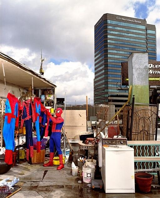 Superheroes At Home Photo Series