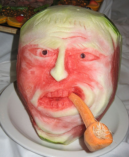 Unfreakingbelievable Watermelon Carvings