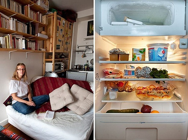 Photography Of Refrigerator Contents