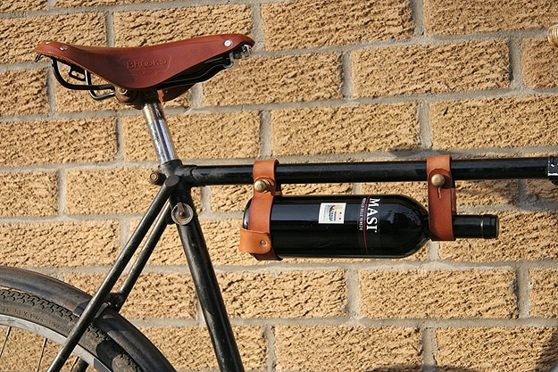 Bicycle Wine Rack For Sophisticated Geeks