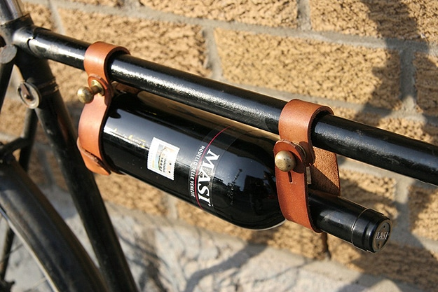 Bicycle Wine Holder For Geeks