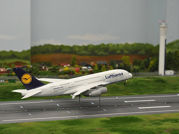 Model Airport Like Hamburg Germany