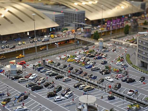 Model Airport Like Hamburg Germany