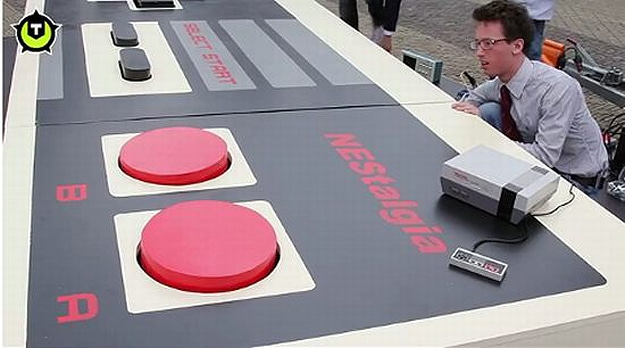 Huge Functional NES Controller