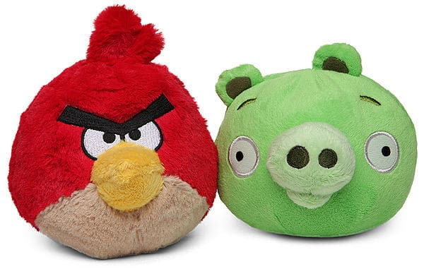 Angry Bird Plush With Sound