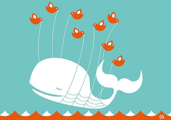 Wall Graphic: Twitter Fail Whale Never Looked So Good
