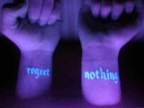 Black Light Glowing Tattoo Technology