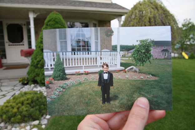 Past and Present Collide Photographs